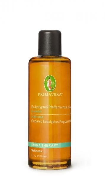 Primavera Bio Aroma Saunaöl Eukalyptus Pfefferminze