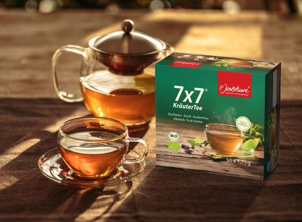 Bio Kräutertee 7 x 7  im Teefilterbeutel 100 Stück