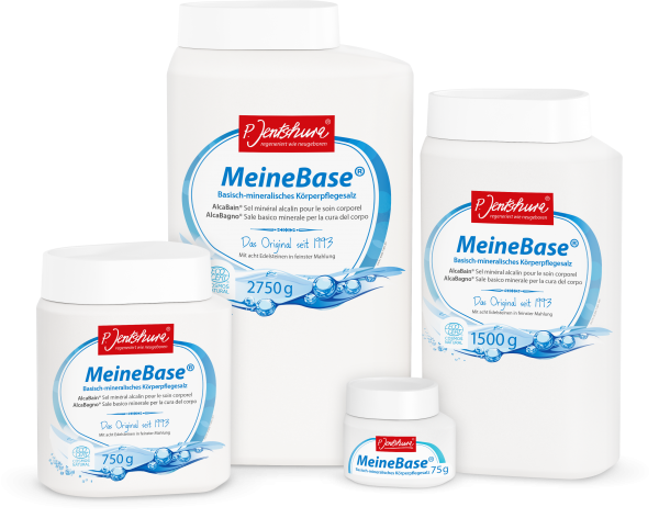 MeineBase® Basisch-mineralisches Körperpflegesalz
