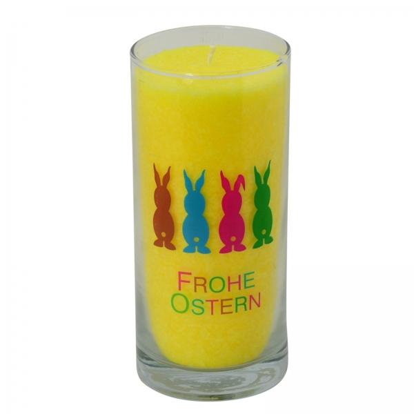 PALM LIGHT Kerze OSTERHASEN, Gelb