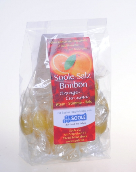 "Soole-Salz Bonbon ""Orange-Curcuma"""